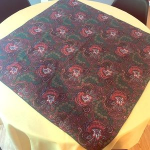 Other - Used square tablecloth.